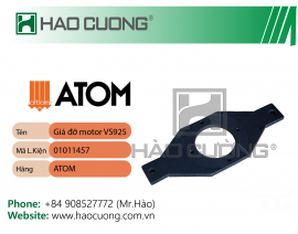 01011457 : Giá đỡ motor máy dập ATOM VS925