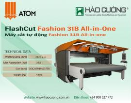 Máy cắt ATOM Fashion 31B All in One