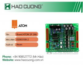 Board mạch máy dập Atom SP588