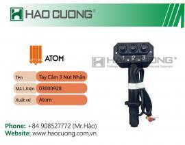 03000928 : Bộ tay cầm 3 nút nhấn ATOM